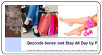 Stay All Day massagepanty kniekousjes en massagesokken